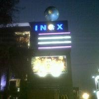 Photo taken at Inox by Shrutika R. on 12/9/2012