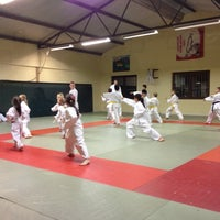 Photo taken at fighting karate by Sandro F. on 3/5/2014