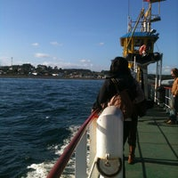 Photo taken at Ferry San Juan CdS by Cona on 3/11/2013
