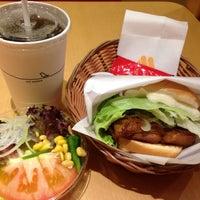 Photo taken at MOS Burger by Silvia L. on 3/26/2014