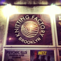 Photo taken at Knitting Factory by Thomas Bech on 11/11/2012