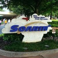 Photo taken at Soarin' by Travisimo! on 7/26/2013