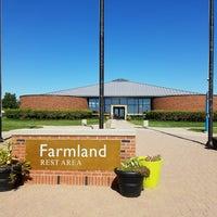 Photo taken at Farm Land Rest Area - Westbound by Travisimo! on 9/19/2016