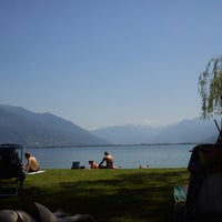 Photo taken at Bagno publico Locarno by Gian C. on 6/9/2014