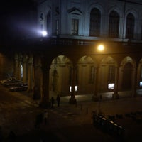 Photo taken at Piazza Verdi by Gian C. on 1/7/2013