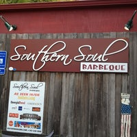 Photo taken at Southern Soul Barbeque by Matthew T. on 2/16/2013