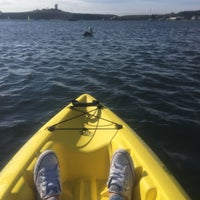 Photo taken at Half Moon Bay Kayak Co. by PairpassaGrace on 10/23/2016