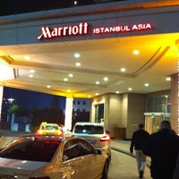Photo taken at Marriott Hotel Asia by Emre O. on 12/28/2012