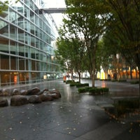 Photo taken at Glass Building by ちび太 on 11/17/2012