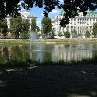 Photo taken at Парк «Чёрное озеро» by Oleg A. on 7/4/2013