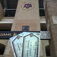 Photo taken at Kyle Field Zone Plaza by Dina V. on 11/13/2012