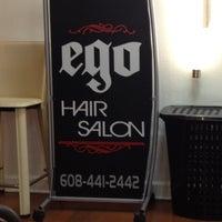 Photo taken at Ego Salon by Amanda M. on 9/20/2012
