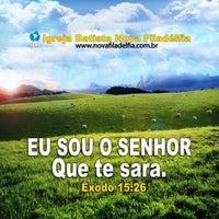 Photo taken at Igreja Batista Nova Filadélfia - Rocha Miranda by Paulo Henrique d. on 2/3/2013
