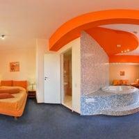 Photo taken at Maxima Irbis hotel / Максима Ирбис отель by Евгения on 12/8/2012