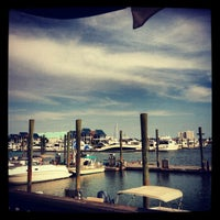 Photo taken at Dockside Restaurant & Bar by Erin H. on 9/28/2012