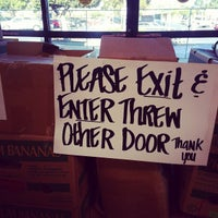 Photo taken at FoodMaxx by James G. on 8/28/2013