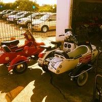 Photo taken at The Motorcycle Shop by Tito B. on 4/24/2014