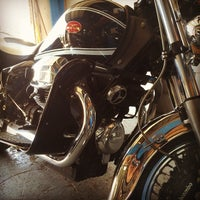 Photo taken at The Motorcycle Shop by Tito B. on 5/17/2014