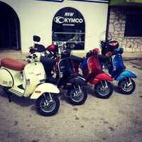 Photo taken at The Motorcycle Shop by Tito B. on 3/25/2014