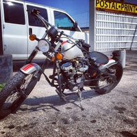 Photo taken at The Motorcycle Shop by Tito B. on 3/6/2014