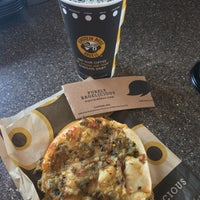 Photo taken at Einstein Bros Bagels by Stu L. on 3/25/2017