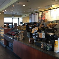 Photo taken at Einstein Bros Bagels by Stu L. on 2/13/2016