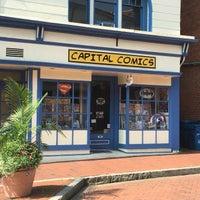 Photo taken at Capital Comics by Stu L. on 7/9/2016