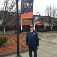 Photo taken at Utica College by Lenore K. on 5/1/2014
