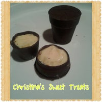 Photo taken at Christinas Sweet Treats Factory by Christina A. on 11/13/2014