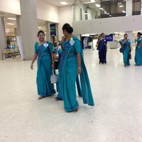 Photo taken at Bandaranaike International Airport (CMB) by Kris V. on 2/10/2013