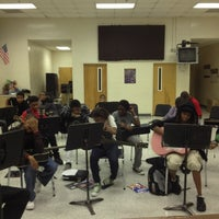Photo taken at HCMS Band Room by Pamela G. on 10/12/2012