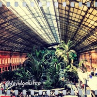 Photo taken at Madrid-Puerta de Atocha Railway Station by David G. on 6/6/2013