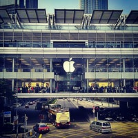 Photo taken at Apple ifc mall by reichen y. on 1/26/2013