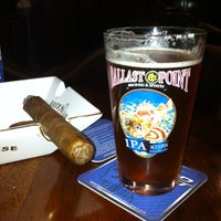 "Photo taken at Churchill Cigar Lounge & Wine Bar by Rick ""The Undaunted Dad"" D. on 12/22/2012"