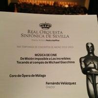 Foto tomada en Teatro de la Maestranza por Francisco G. el 7/4/2013