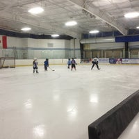Photo taken at Clearwater Ice Arena by Brian K. on 1/26/2013