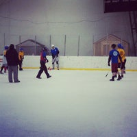 "Photo taken at Dominic ""Mimi"" DiPietro Family Skating Center by Tenley H. on 1/30/2013"