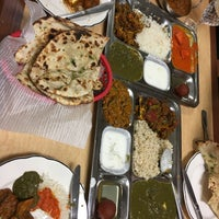 Photo taken at Mama's Indian Kitchen by Vu N. on 3/31/2017
