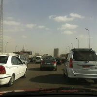 Photo taken at 6th October Bridge by Dado E. on 12/20/2012