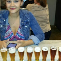 Photo taken at Thompson Brewing Co. by Alex B. on 8/17/2014