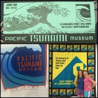 Photo taken at Pacific Tsunami Museum by Georgi S. on 7/18/2015