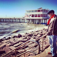 Photo taken at Jimmy's On The Pier by Georgi S. on 2/16/2013