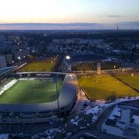 Photo taken at Stadionin torni by dwi on 4/9/2013