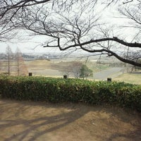 Photo taken at さきたま古墳公園 by Takao I. on 3/10/2013