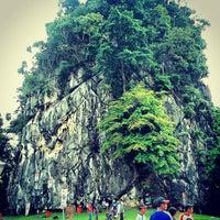 Photo taken at Kem Taman Etnobotani by Aizat R. on 10/14/2012