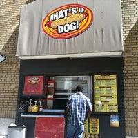 Photo taken at What's Up Dog? by Gerard R. on 4/1/2011