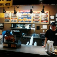 Photo taken at Zaxby's Chicken Fingers & Buffalo Wings by Christopher E. on 11/17/2011