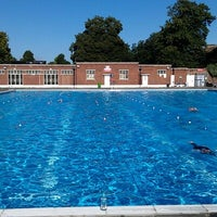 Photo prise au Brockwell Lido par Hugo R. le8/26/2012