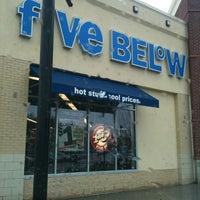 Photo taken at Five Below by Nikki C. on 1/1/2011