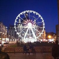 Photo taken at Koningin Astridplein by Erdal G. on 4/1/2012